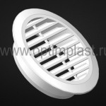 Вентиляционная решетка d 100 мм (в комплект входит кольцо)